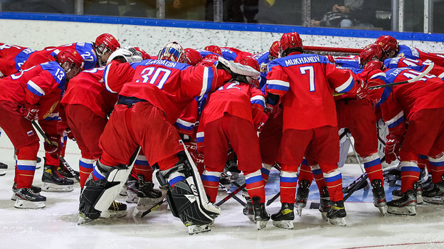 Юниорская сборная России. Фото ФХР.