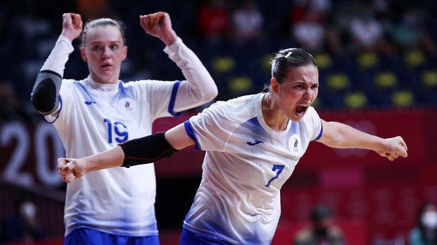 Женская гандбольная сборная России сыграет против Франции вфинале Олимпиады вТокио. Фото Дарья Исаева, «СЭ» / Canon EOS-1D X Mark II