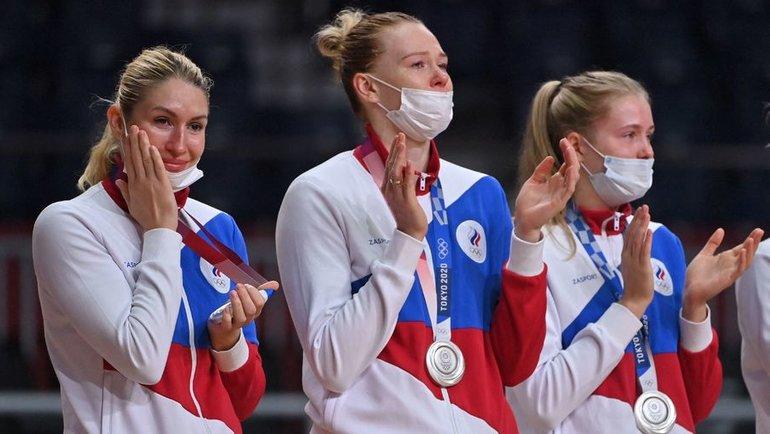 Сборная России погандболу. Фото AFP
