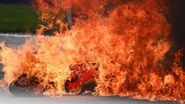 Авария на «Гран-при Штирии» MotoGP. Фото Twitter