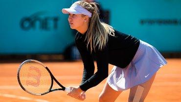 Потапова обыграла Младенович ипробилась восновную сетку турнира вМонреале
