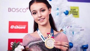 Щербакова возглавила рейтинг ISU, Трусова— вторая, Медведева выше Загитовой