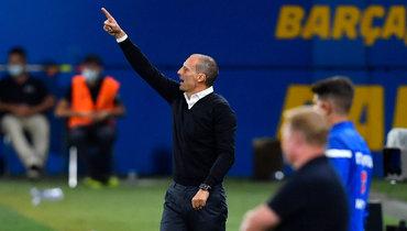 Аллегри прокомментировал поражение «Ювентуса» вКубке Гампера от «Барселоны»
