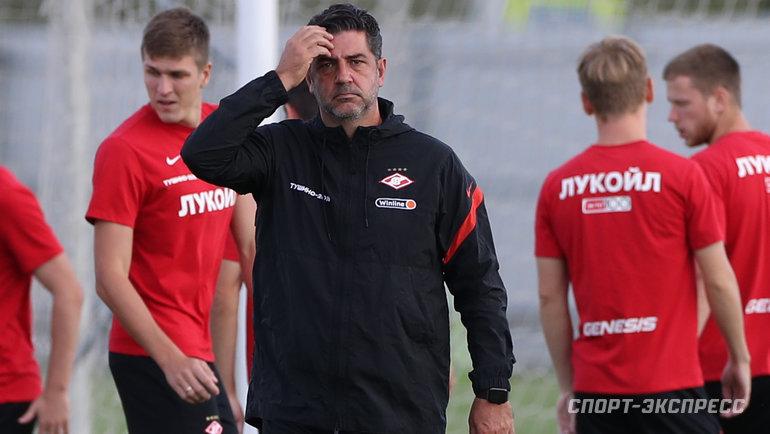 «Была суета вокруг клуба, нокоманда профессионально относится ксвоей работе». Витория— перед матчем «Бенфика»— «Спартак»