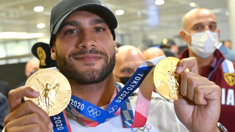 Двукратный олимпийский чемпион Токио-2020 Марсель Джейкобс. Фото AFP