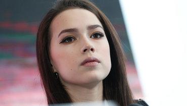 Алина Загитова опубликовала фотографию сДиной иАриной Авериными