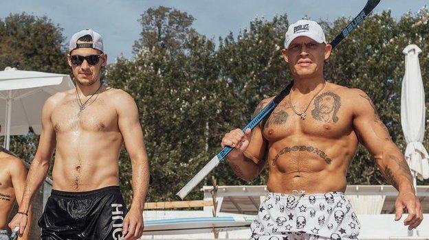 Николай Пронин (справа). Фото pronnik, Instagram