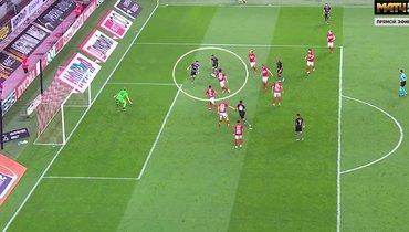 УЕФА признал, что гол «Бенфики» вворота «Спартака» засчитан ошибочно