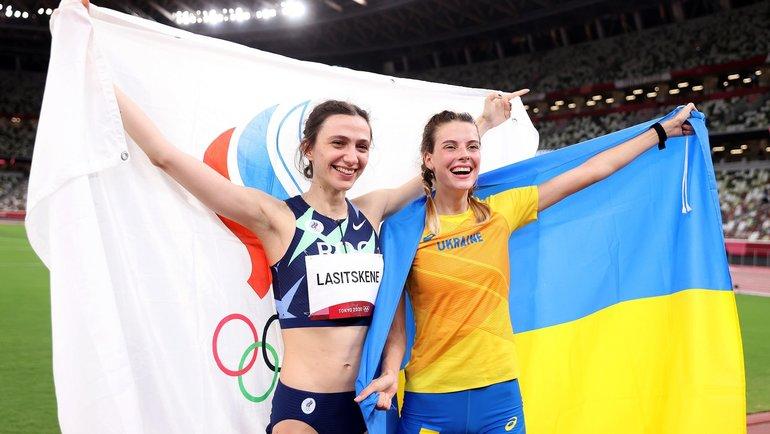 Мария Ласицкене (слева) иЯрослава Могучих. Фото Twitter