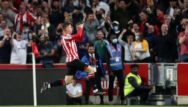 Первый гол сезона-2021/22 АПЛ забил нападающий «Брентфорда» Канос
