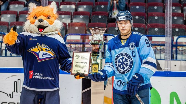 «Сибирь» второй год подряд выиграла Мемориал Ромазана. Фото ХК «Сибирь»