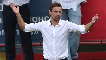 Сергей Семак прокомментировал удаление Кузяева вматче с «Локо»