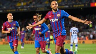 Эра без Месси началась для «Барселоны» спобеды. Пике спас клуб изабил, Брэйтуэйт стал героем «Камп Ноу»