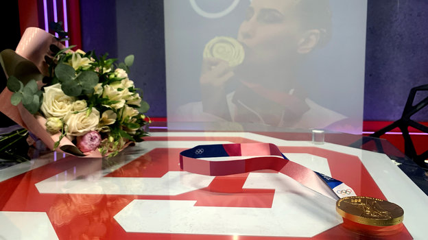 Медаль Аллы Шишкиной. Фото Александр Чурилин, «СЭ»