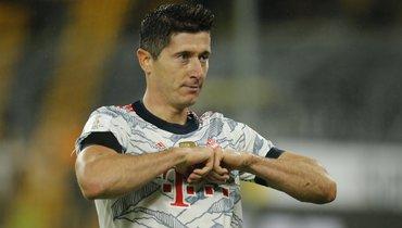 Левандовски забил в14-м матче за «Баварию» подряд