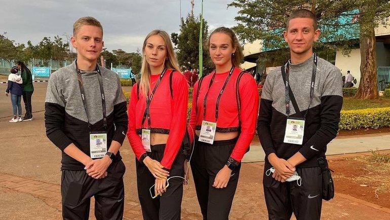 Никита Егоров, Наталья Спиридонова, Дарья Шинкевич иДенис Новосельцев. Фото Instagram