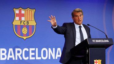 Президент «Барселоны» Жоан Лапорта. Фото Reuters