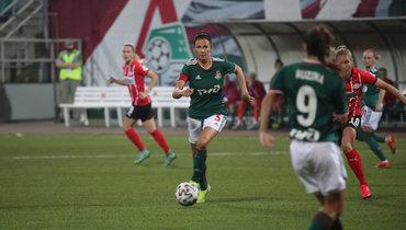 «Локомотив» проиграл ПСВ вквалификации женской Лиги чемпионов