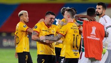 Вполуфинале Кубка Либертадорес сыграют три бразильские иэквадорская команды
