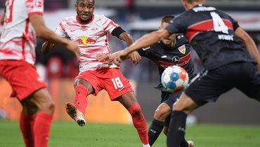 «Лейпциг» разгромил «Штутгарт» встартовом матче второго тура бундеслиги