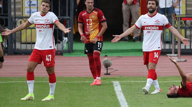 Парфенов вновь отобрал очки у «Спартака». Красно-белые сыграли вничью вТуле
