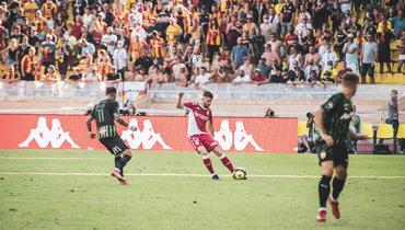 Головин получил красную карточку, «Монако» проиграл «Лансу»
