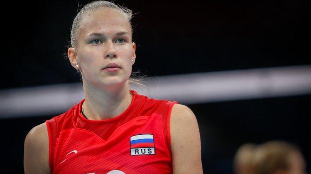 Арина Федоровцева. Фото ВФВ, vk.com/rusvolleyteam