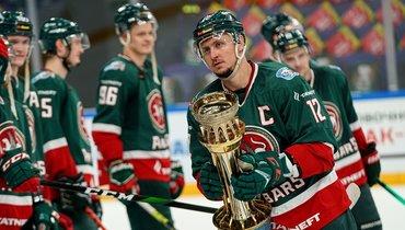 «АкБарс» стал победителем турнира обладателей Кубка Гагарина.