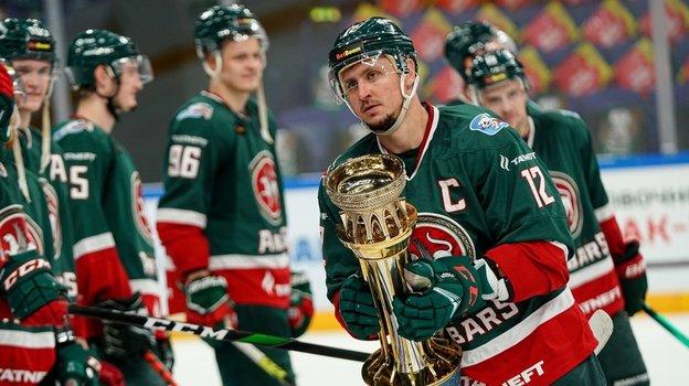 «АкБарс» стал победителем турнира обладателей Кубка Гагарина. Фото ХК «АкБарс»