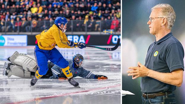 Сборная Швеции несыграет наЧМ. Фото Шведская ассоциация хоккея смячом