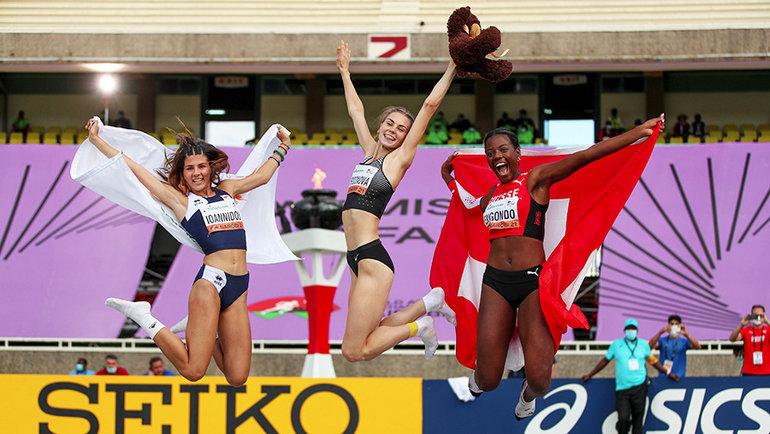 19-летняя россиянка Наталья Спиридонова выиграла юниорский чемпионат мира срезультатом 1,91. Фото Global Press
