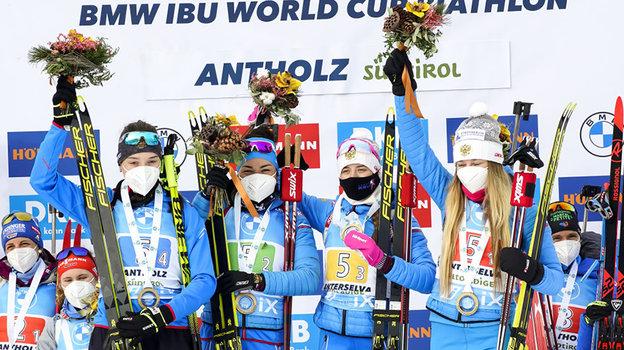 Российские биатлонистки выступят в новом сезоне в полном составе. Фото Getty Images