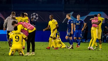 «Шериф» стал первой командой изМолдавии, которая вышла вгрупповой турнир Лиги чемпионов.