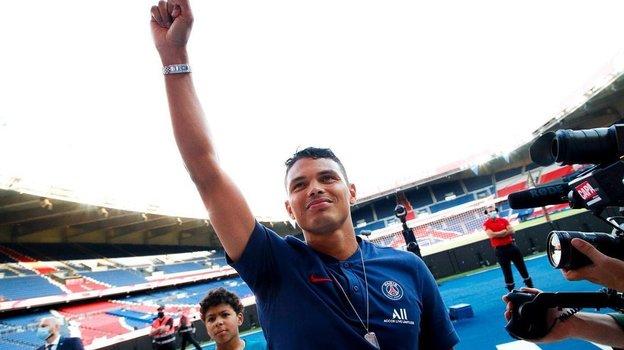 Тиагу Силва. Фото Instagram
