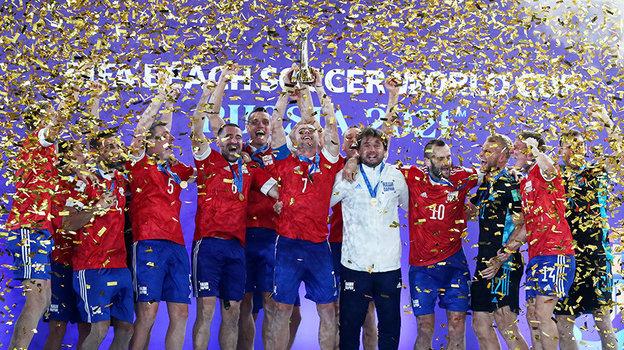 Сборная России попляжному футболу. Фото Reuters