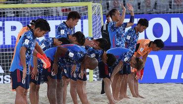 Японцы убрали засобой враздевалке после поражения вфиналеЧМ попляжному футболу