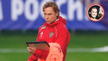 «Как заставить футболистов усерднее тренироваться? Надеюсь, ответ есть уКарпина». Колонка Аллы Шишкиной оматче Россия— Хорватия