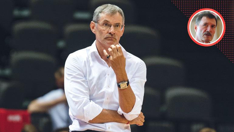Борис Соколовский— овыборе главного тренера мужской национальной команды.