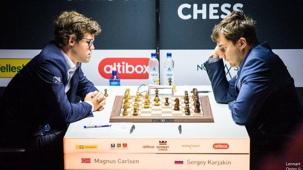 Накрупных соревнованиях вНорвегии пройдет репетиция матча напервенство мира. Фото Norway Chess