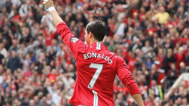 Криштиану Роналду. Фото Sky Sports