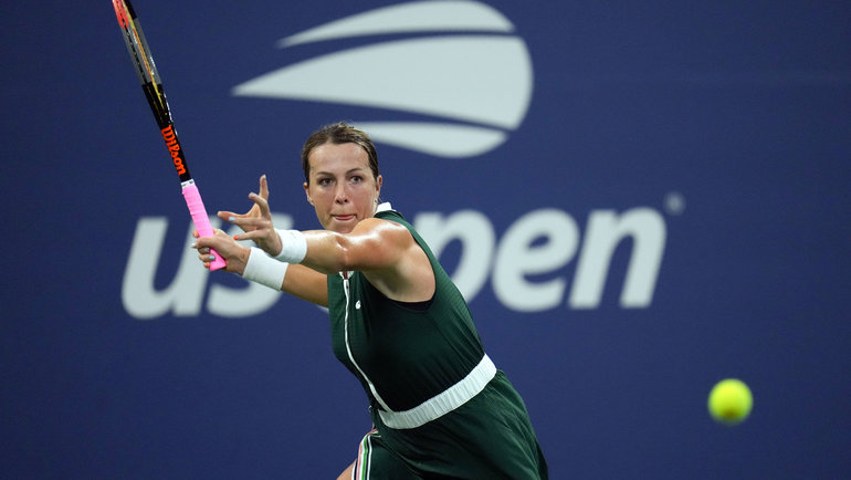 Анастасия Павлюченкова. Фото USA Today Sports
