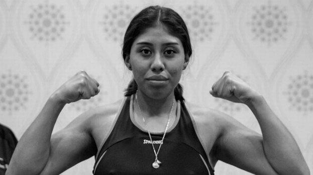 Мексиканская боксерша Жанетт Закариас Сапата.