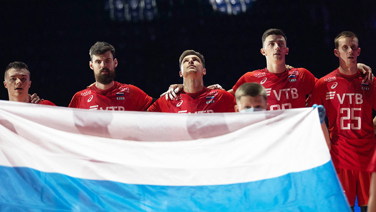 Сборная России поволейболу. Фото CEV