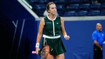 Павлюченкова вышла вчетвертый раундUS Open впервые за10 лет