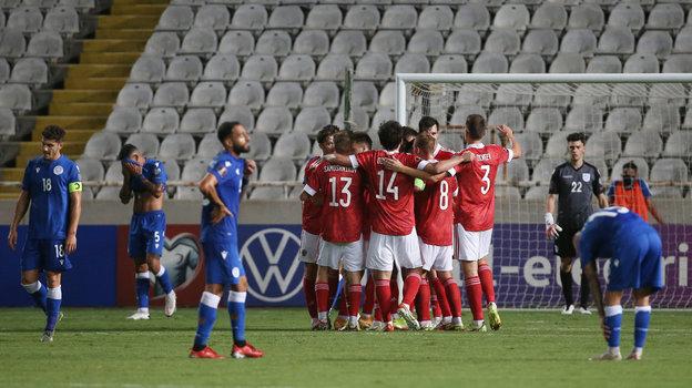 4 сентября. Никосия. Кипр — Россия — 0:2. Фото Reuters