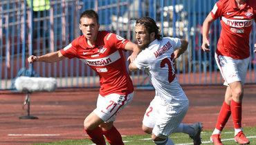 «Спартак-2» вменьшинстве обыграл «СКА-Хабаровск» навыезде