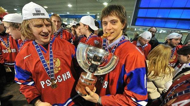 Юрий Урычев и Даниил Собченко.