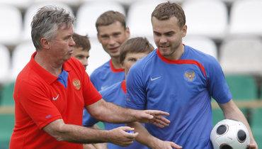 Акинфеев: «Перед Евро вАвстрии Хиддинк сказал: «Это твой турнир. Тыдолжен показать себя»