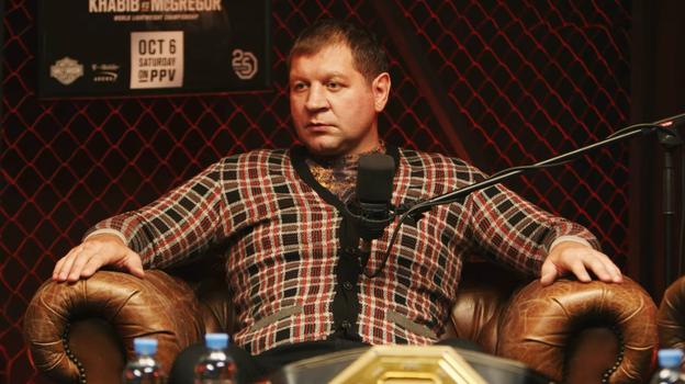 Александр Емельяненко. Фото Hustle MMA