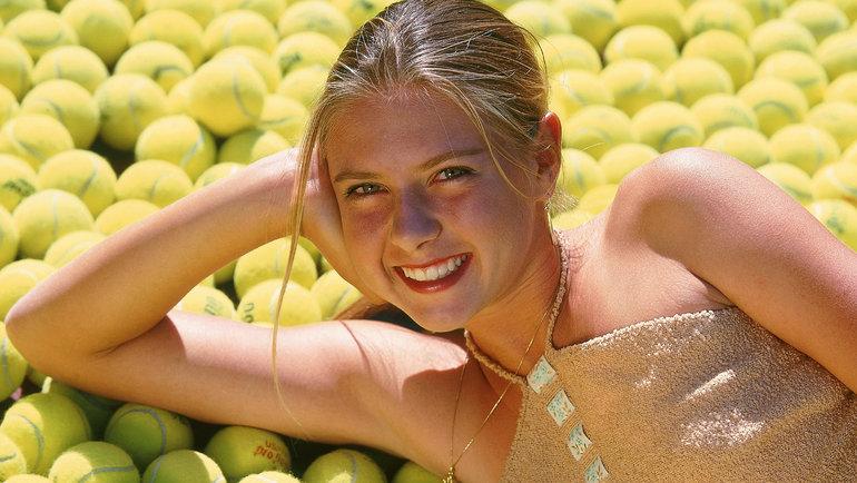 Мария Шарапова, 2002 год.